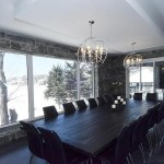 elite blue granite sawn height dining room