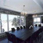 elite blue granite sawn height dining room