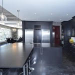 elite blue granite sawn height kitchen