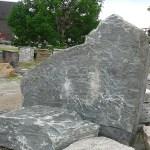 elite blue granite sign slab
