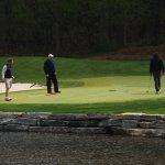 elite blue granite wall golf course