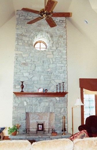 fireplace ottawa valley limestone