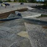 granite fire fighters memorial constructing