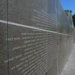 granite fire fighters memorial wall