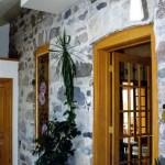 interior stone feildstone rustic wall