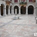 interior stone floor elite blue granite tumbled cobbles indoor