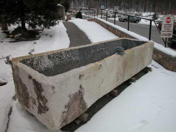 large trough