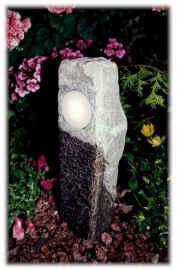low voltage stone pillar
