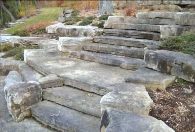 Mocha Limestone Natural Steps