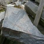 muskoka granite step