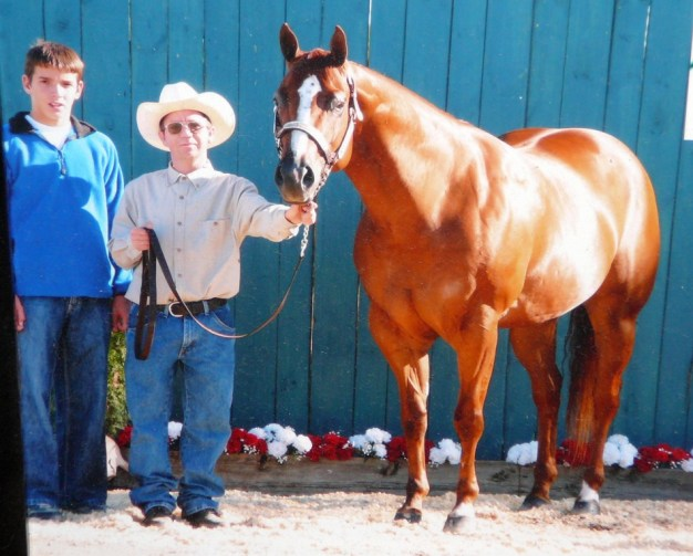 nathaniel and ben with smoothie
