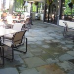 patio bluestone square cut