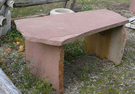 rose sandstone random table