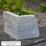 silverwater limestone sawn height veneer corner