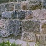 squared split fieldstone foundation