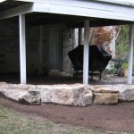 weatheredge limestone armor stone retaining wall