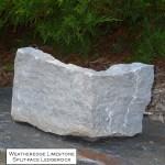 weatheredge limestone splitface ledgerock veneer corner