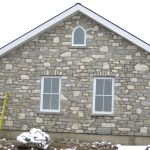 weatheredge limestone tumbled blend house side