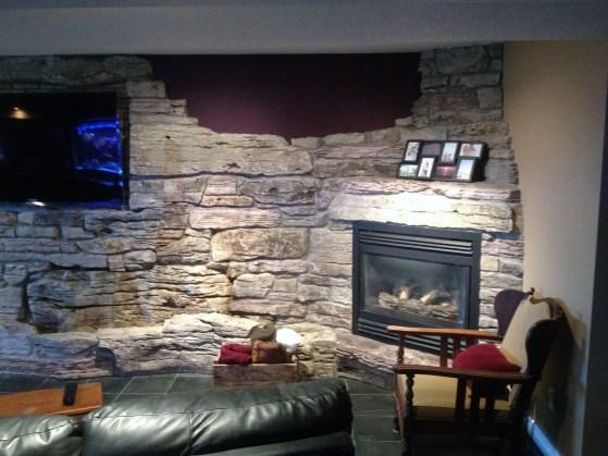 weatheredge limestone weathered skins wall