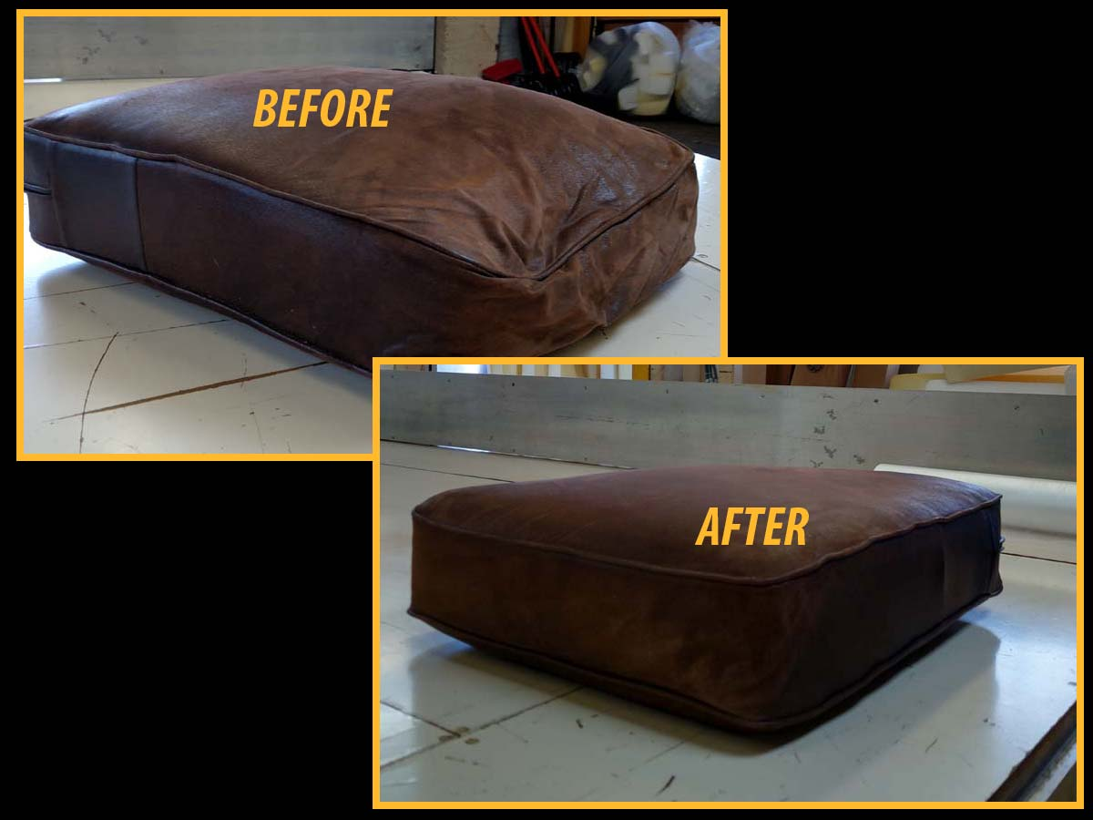 Before And After Couch Foam Replacement. Before And After Couch Foam  Replacement