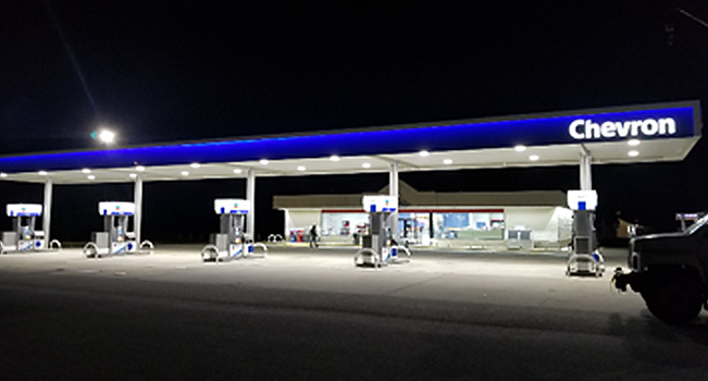 COI Retail Dealer Solutions Full Site at Night