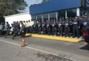 Reunión de seguridad de la Colonia Portales con personal de SSP