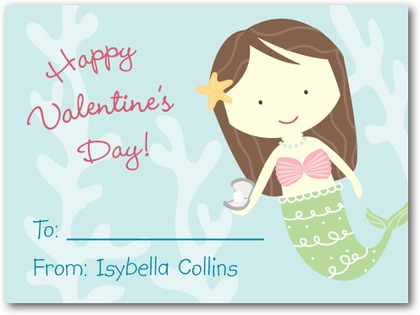 pretty_mermaid-valentine's_day_cards_for_kids-magnolia_press-lightest_turquoise-blue