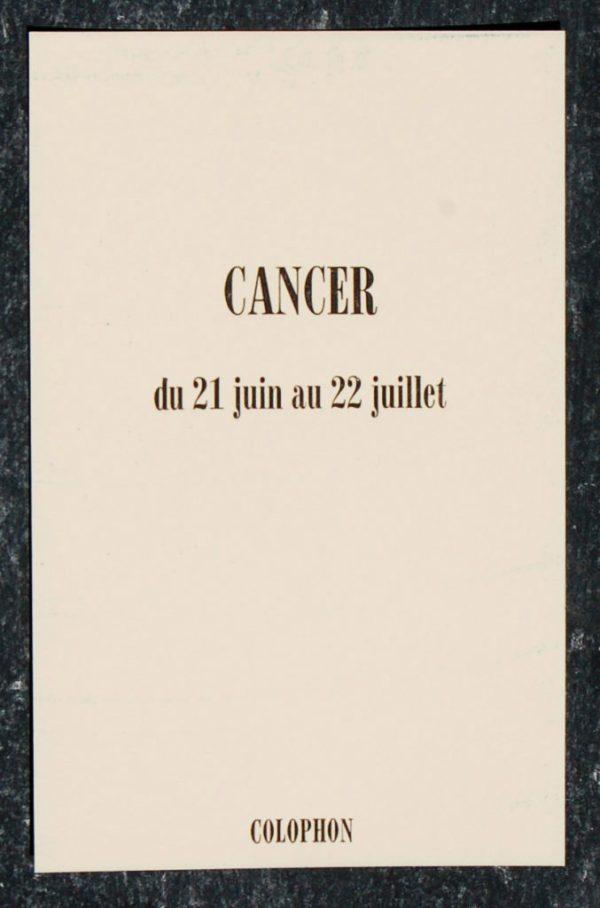 cancer signe astrologique zodiaque verso