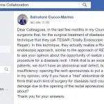 chirurgia endoscopica per la diastasi dei retti, chirurgia endoscopica della diastasi dei retti, REPA