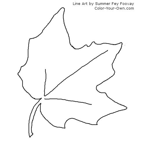 printable fall leaf coloring pages cooloring com