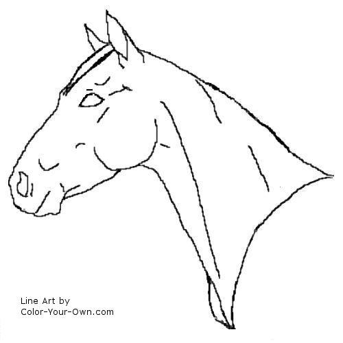 quarter horse coloring pages print cooloring com