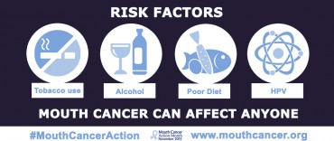 Mouth cancer awareness month