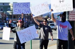 Steamboat Protest