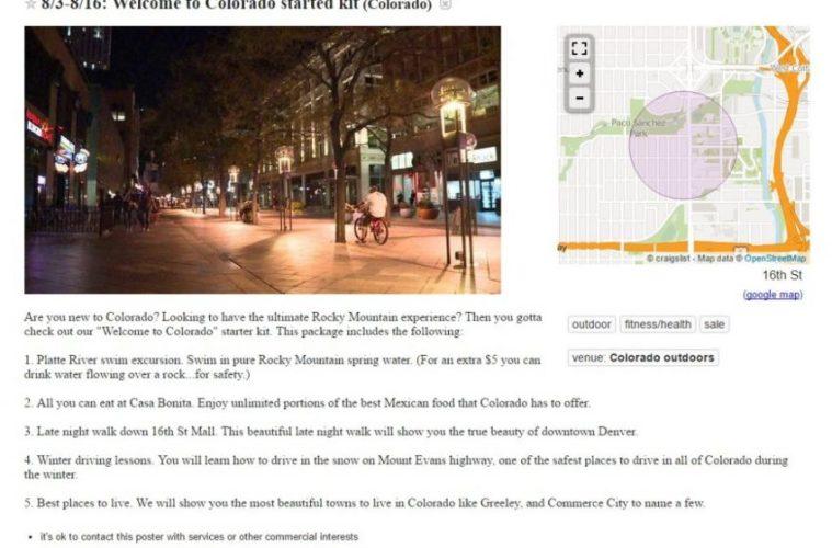 Crazy Craigslist Ads Denver Edition