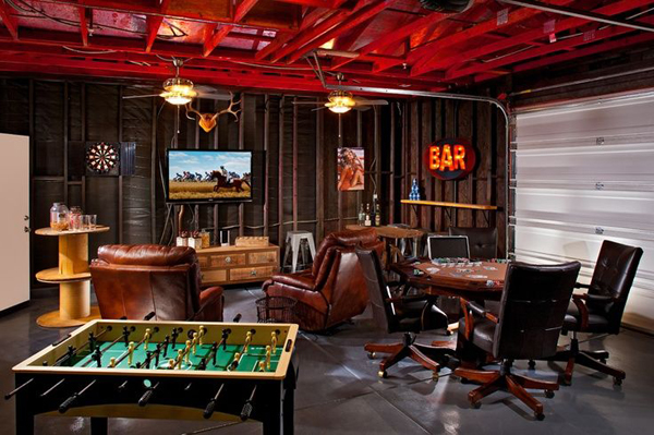 Man Caves Englewood : Game room in garage man cave our community now at colorado