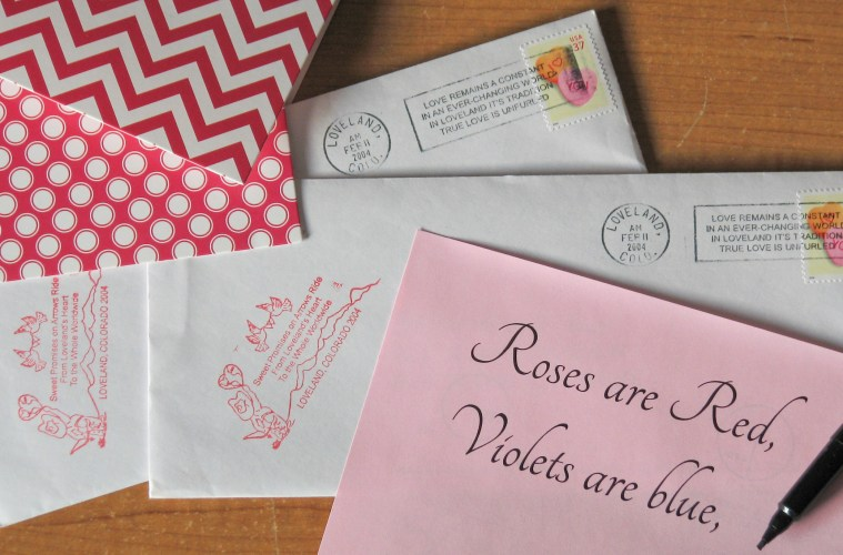 Share the Colorado Love: How to Send Your Valentines from Loveland!