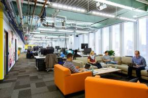 The Boston office (courtesy of Offices Around the World)