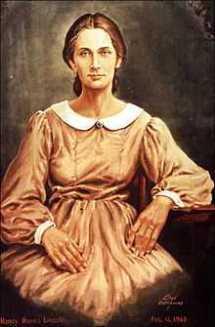 Nancy Hanks Lincoln, courtesy of findagrave.com