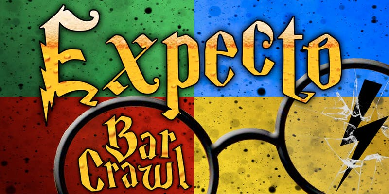 harry potter-themed bar crawl