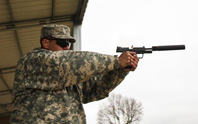 suppressed firearm