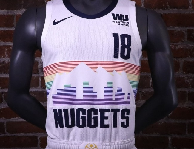 The Nuggets Are Bringing Back the Denver Skyline Jerseys c4556293c