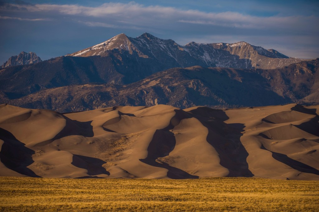 great sand dunes national park near alamosa colorado
