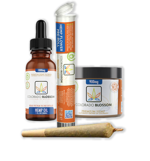 Premium CBD and Hemp products - Colorado Blossom