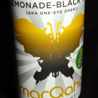 "Drink Review: ""Sativa Lemonade-Black Tea (AKA One-Eye Open)"" from ""marQaha"""