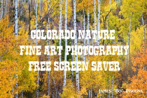 Colorado Canvas Art Free Screen Saver 1