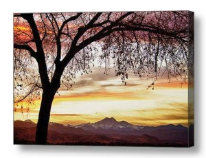 Colorful-November-Sunset-Sky-And-Longs-Peak-Canvas-Art- Print