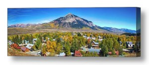 City-Of-Crested-Butte-Colorado-Panorama-Canvas-Wall-Art-Print