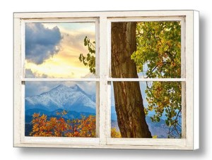 Colorado-Rocky-Mountains-Longs-Peak-Rustic-Window-View-Canvas-Art