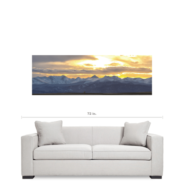 colorado nature canvas art