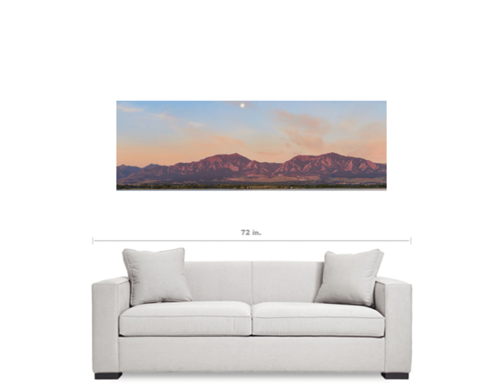 Colorado panorama canvas art